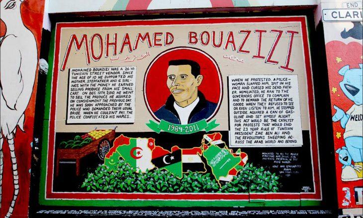 Në kujtim të Mohamed Bouazizi, njeriut që ndezi Pranverën Arabe