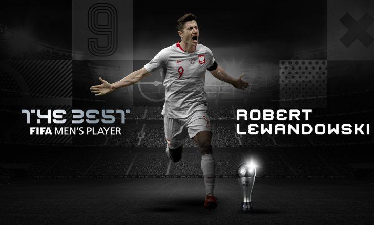 Robert Lewandowksi zgjidhet lojtari i vitit nga FIFA