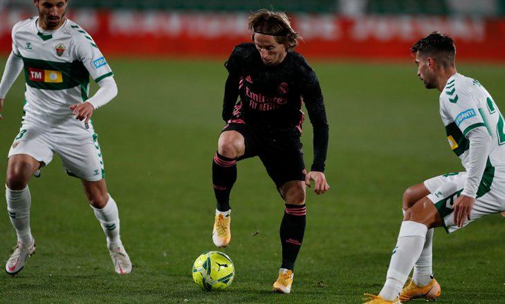Elche fiton një pikë me vlerë ndaj Real Madrid