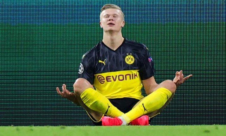 Bild: Haaland e dashuron klubin e Dortmund-it, nuk e mendon largimin