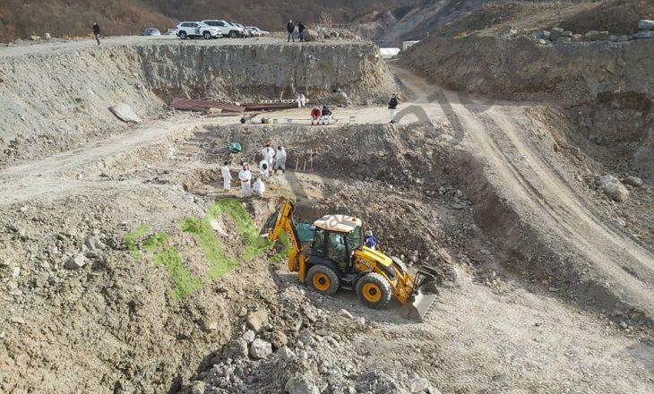 Kizhevak: U zhvarrosën mbetjet mortore të 4-5 personave, gërmimet vazhdojnë në pranverë