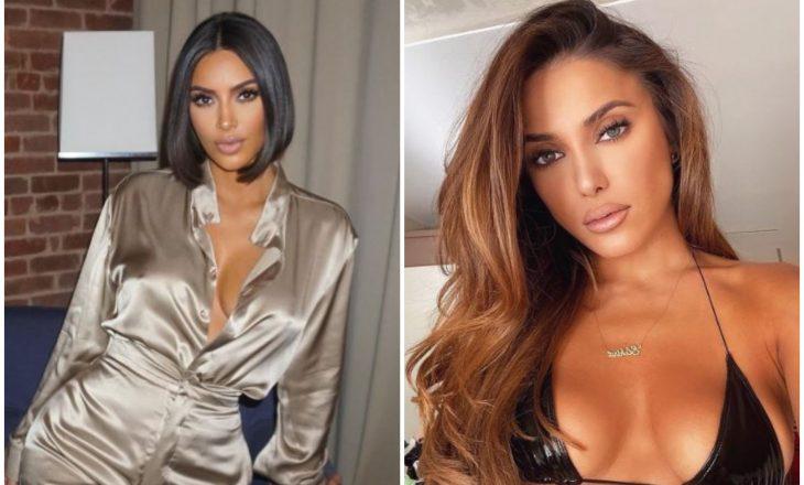 Kim Kardashian promovon këngën e re të Anxhelinës