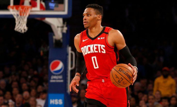 NBA: Russell Westbrook kalon nga Houston Rockets te Washington Wizards