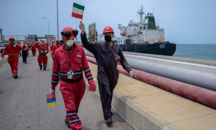 Irani dërgon flotën më të madhe të cisternave të naftës në Venezuelë