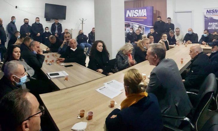 Limaj e nis mobilizimin për zgjedhje: Malisheva bërthama e socialdemokracisë