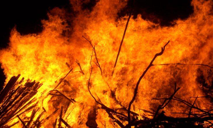 Si pasojë e zjarrit vdes një person në Malishevë