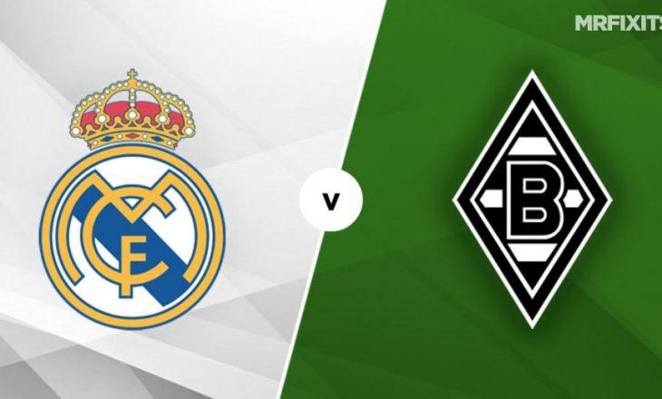 Real Madrid vs Borussia Moenchengladbach – formacionet