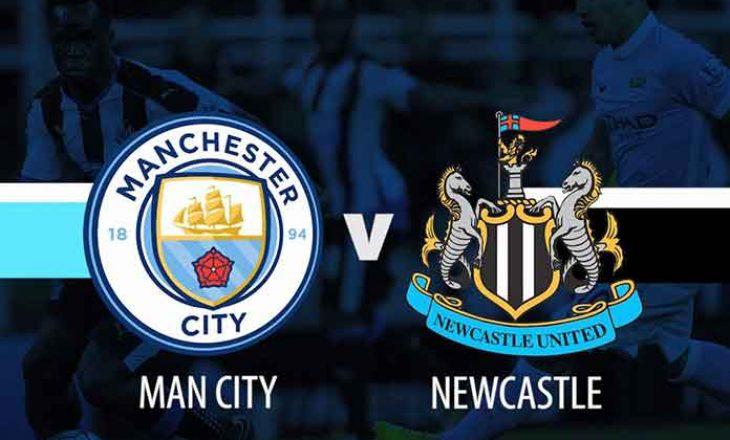 Manchester City vs Newcastle United – formacionet