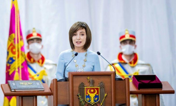 Ka bërë betimin presidentja e re e Moldavisë