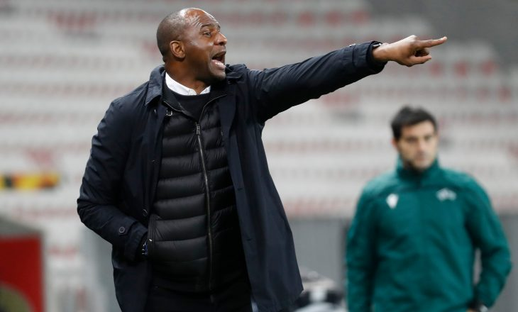 Patrick Vieira shkarkohet nga Nice