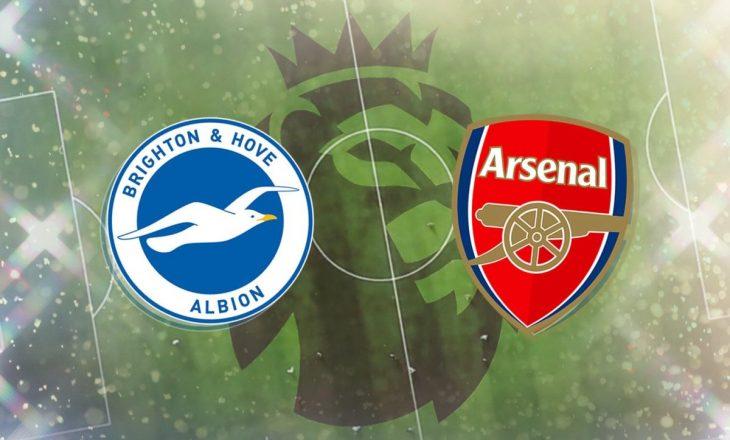 Brighton vs Arsenal – formacionet, Xhaka nga minuta e parë