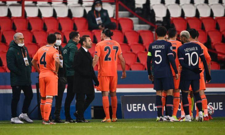 Është ndërprerë ndeshja e Ligës së Kampionëve mes PSG dhe Basaksehir shkaku i racizmit