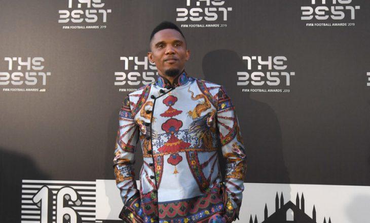 Samuel Eto'o drejtuar FIFA-s: Ne afrikanët nuk ekzistojmë