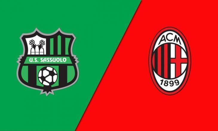 Sassolo vs Milan – formacionet