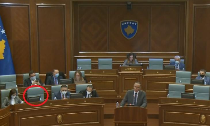 Driton Selmanaj nuk merr pjesë në seancën e Kuvendit