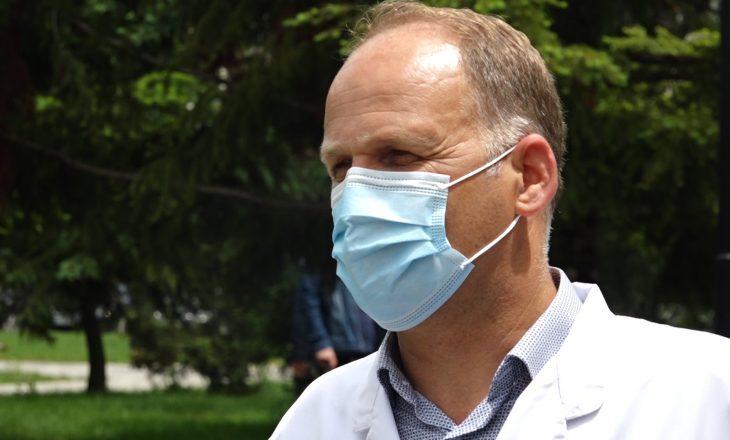 Krasniqi: Ka rrezik potencial të rritet numri i të infektuarve
