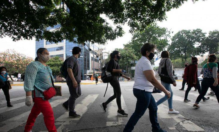 Numri i vdekjeve nga COVID-19 në Amerikën Latine vazhdon të rritet