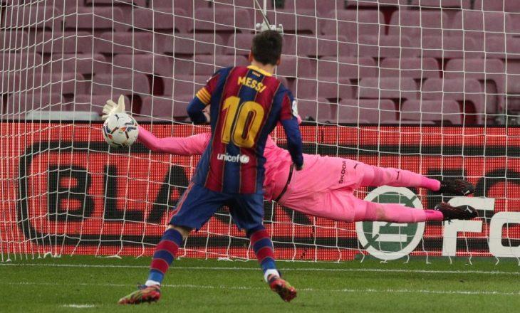Valenci e ndal në barazim Barcelonën në 'Camp Nou'