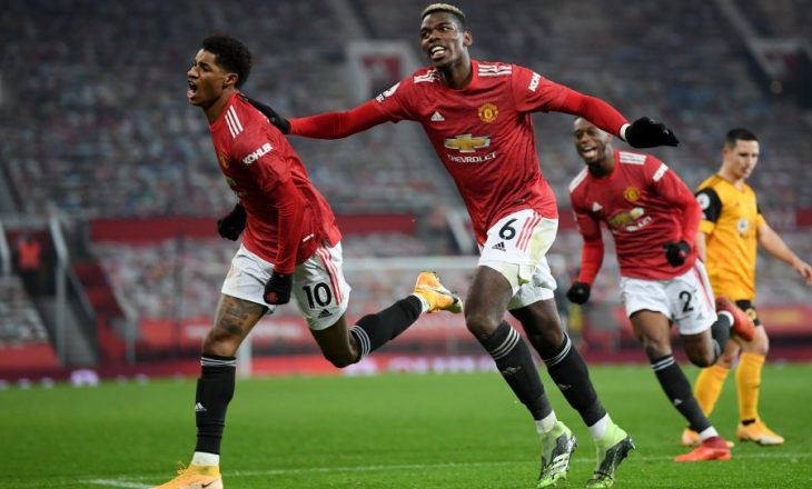 Manchester United mposht në kohën shtesë Wolves-in