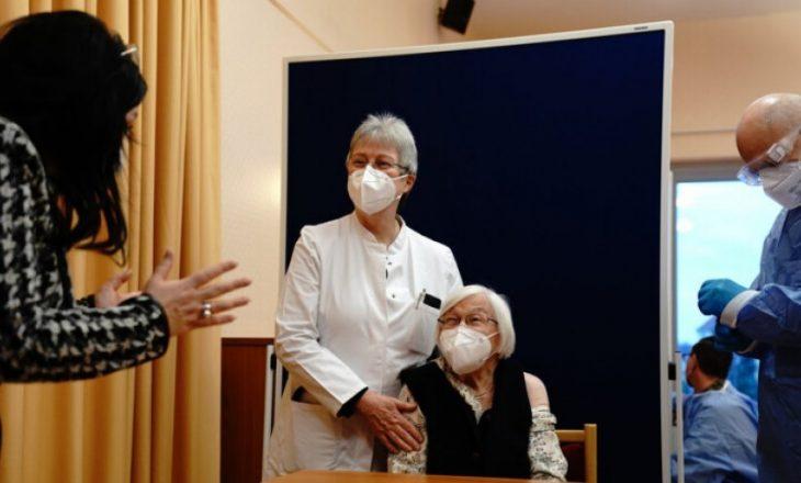 Mjeku kosovar e jep vaksinën e parë kundër COVID-19 në Gjermani