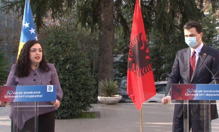 Basha takohet me Osmanin, premton heqjen e taksës në Rrugën e Kombit