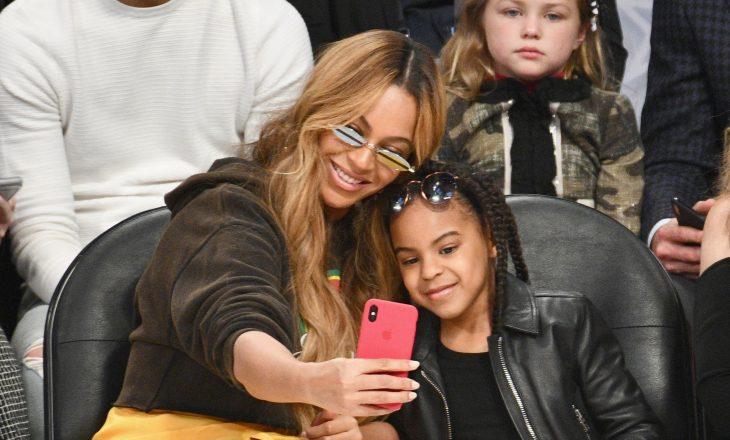 """Vajza tetë vjeçare e Beyonce bën histori në """"Grammy"""""""