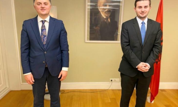 Cakaj takon Ambasadorin e Kosovës në Hollandë