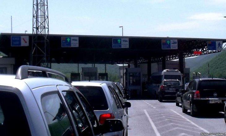 Deri në 10 minuta pritje nëpër pikat kufitare të Kosovës