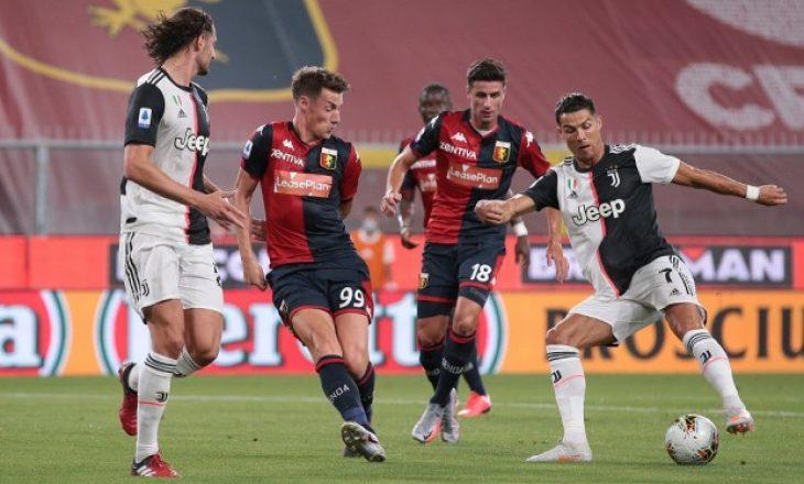 Juventus mposht Genoa-n në 'Marassi'
