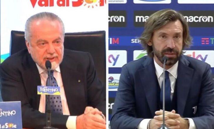 Presidenti i Napolit, De Laurentiis: Pirlo nuk është avokat