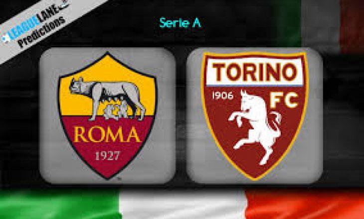 Roma vs Torino – formacionet, Kumbulla në bankën rezervë ndërsa Vojvoda starton