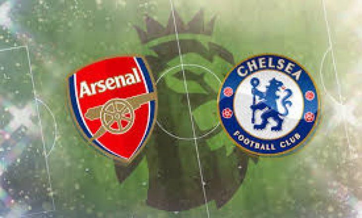 Arsenal vs Chelsea – formacionet e derbit anglez