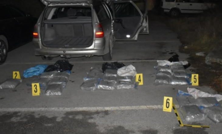Kapen me 50 kg drogë – Tre persona të arrestuar në Prishtinë