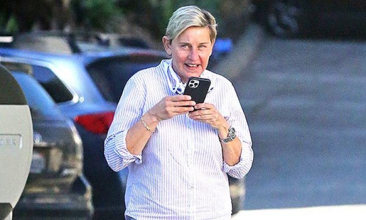 E infektuar me COVID-19, Ellen DeGeneres fotografohet në publik pa maskë