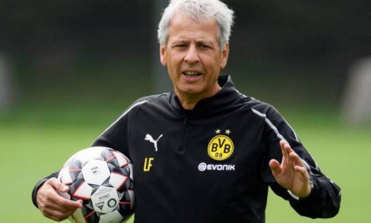 Dortmund shkarkon trajnerin Favre