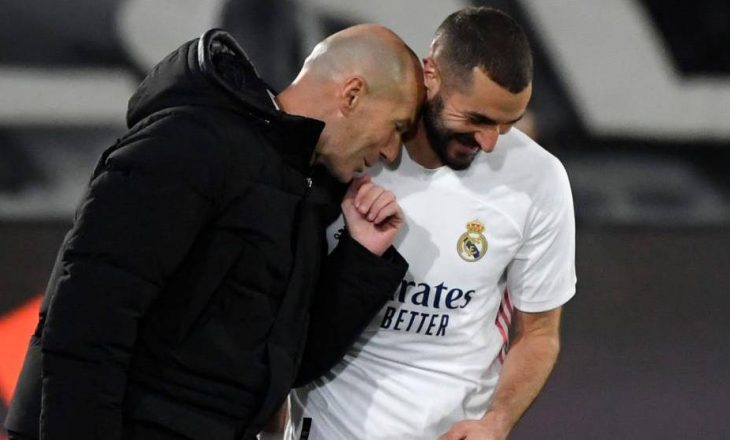 Zidane lavdëron Benzeman: Për mua është më i miri