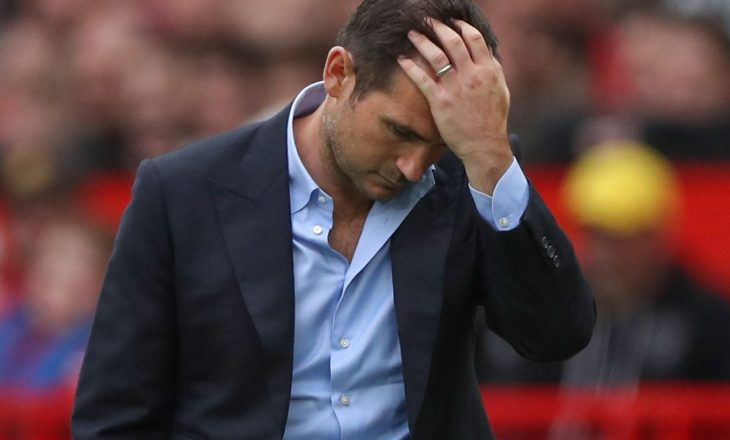 Situatë e vështirë e Lampardit