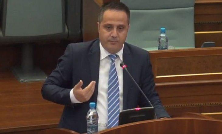 VV kundërshton prezencën e Selmanajt në Kuvend