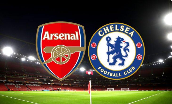 Ndeshjet e sotme në Premier League, kryesore ajo mes Arsenalit dhe Chelsea