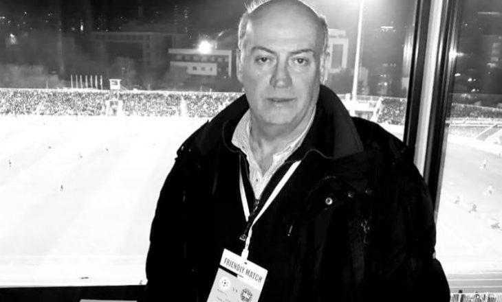 Vdes gazetari sportit Avni Shabani
