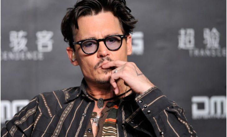 Përveçse në aktrim, Johnny Depp shkëlqen edhe si piktor