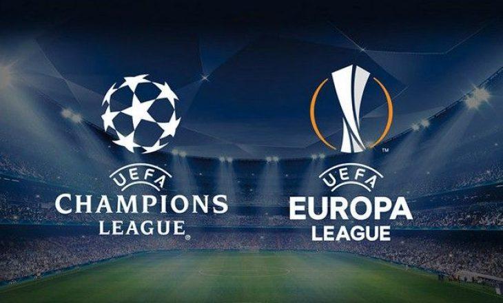 Tetë skuadra që nga Champions League kalojnë në Europa League