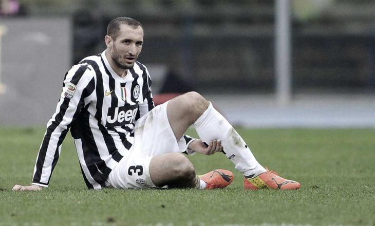 Dëmtohet përsëri Chiellini te Juventus