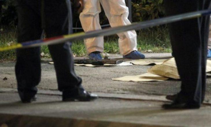 Gjendet i vdekur një person në rrugë