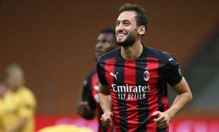 Hakan Çalhanoglu pritet të vazhdojë kontratën me Milan-in