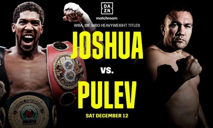 Joshua: Ndeshja kundër Pulev do të jetë e vështirë