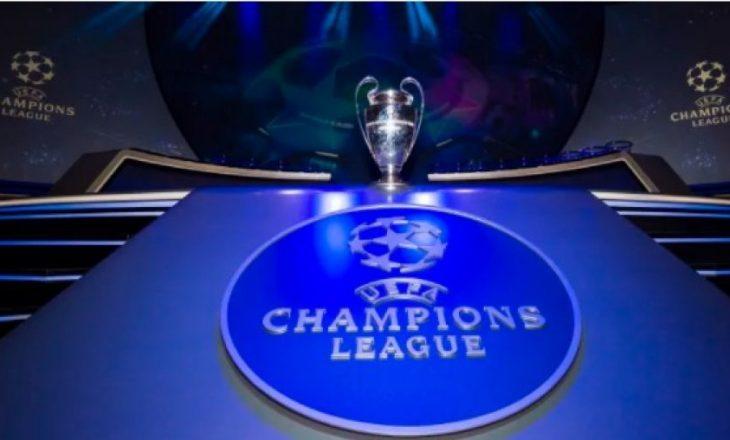 Më 14 dhjetor shorti i Champions League