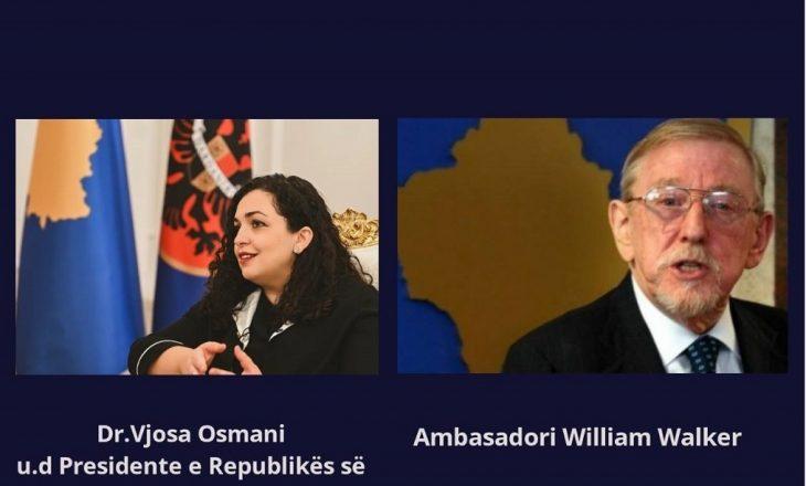 Kontrata e Walker: Vjosa Osmani bisedon personalisht me ish-ambasadorin e OSBE-së
