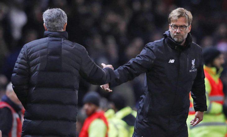 Klopp lavdëron Tottenhamin e Mourinhos para super-ndeshjes