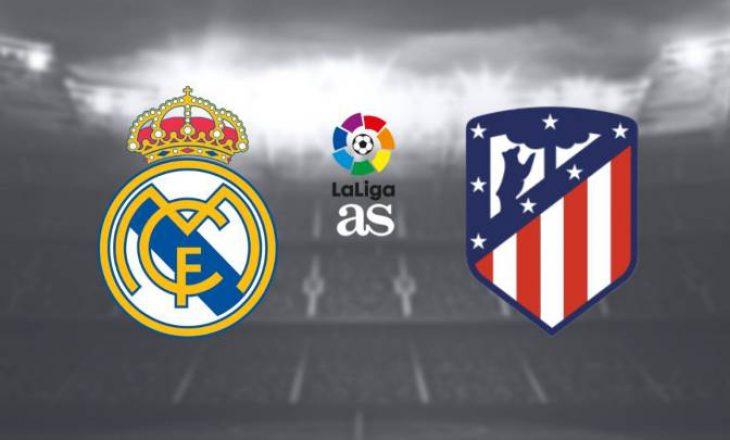 Nata e derbit Real Madrid & Atletico Madrid